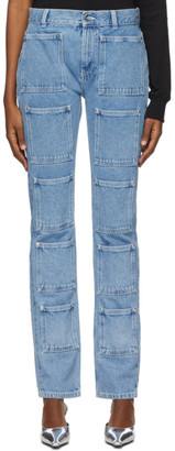 Lourdes Blue Multi Pocket Jeans