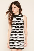 Forever 21 Zig Zag Sweater Dress