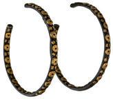 Yossi Harari Large Libra Hoop Earrings