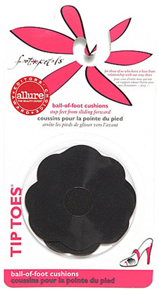 Foot Petals Tip Toes Black Cushions