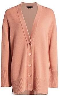 Alice + Olivia Women's Louie V-Neck Oversized Wool & Cashmere-Blend Cardigan