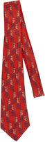 One Kings Lane Vintage Hermès Red Silk Koala Tie