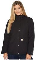 Carhartt Full Swing Cryder Jacket (Black) Women's Coat