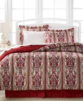 Sunham Hamilton 8-Pc. Reversible Queen Bedding Ensemble