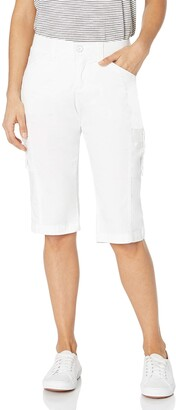 Lee Uniforms Lee Women's Flex-to-go Relaxed Fit Cargo Skimmer Capri Pant