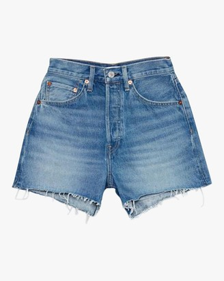 RE/DONE 50S Cut-Off Denim Shorts