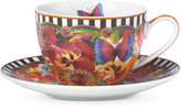 Lenox Melli Mello Eliza Stripe Collection 2-Pc. Cup & Saucer Set, Exclusively available at Macy's