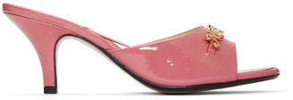 Marc Jacobs Pink New York Magazine Edition The Mule Sandals