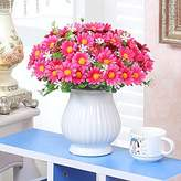 XHOPOS HOME-Fake flowers XHOPOS HOME Artificial Plants Artificial Flowers Dried Flower Bouquets Potted Plants Red Chrysanthemum Floral Arrangements Home Room Office Decorative Accessories