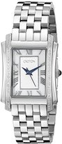 Croton Women's CN207481SSMP Balliamo Analog Display Swiss Quartz Silver-Tone Watch