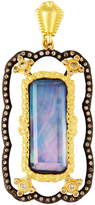 Armenta Old World Quartz Triplet Enhancer w/ Champagne Diamonds