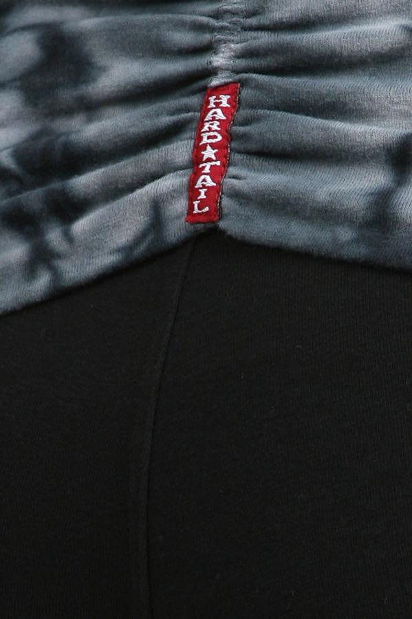 Hard Tail Tie Dye Razorback Rolldown in Black/ Ice