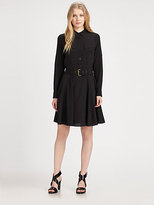 DKNY Belted Shirtdress