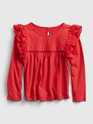 Gap Toddler Ruffle Shirt