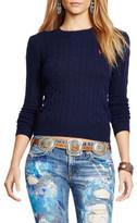 Polo Ralph Lauren Julianna Long Sleeve Wool And Cashmere Sweater