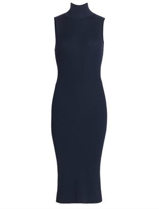 L'Agence Mina Turtlneck Knit Bodycon Dress