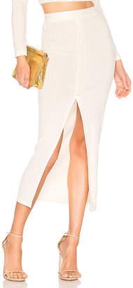 Fleur Du Mal Maxi Slit Skirt