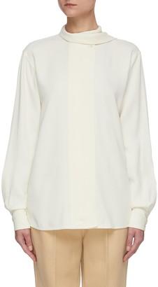 Victoria Beckham Scarf neck blouse