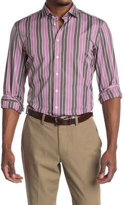 Thomas Pink Archive Downing Stripe Print Shirt