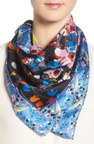 Echo Women's Floral Square Silk Scarf