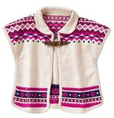 Gymboree Fair Isle Cape
