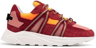 Hide&Jack Jet Sport embossed sneakers