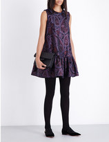 Roksanda Dropped-waist brocade dress