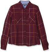 Tommy Hilfiger Girl's Windowpane Check Shirt L/S Blouse