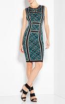 Herve Leger Tanya Jacquard Dress