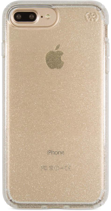 on sale b7e02 6ca89 Presidio Clear Glitter iPhone 7 Plus Case