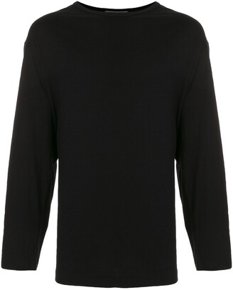 Yohji Yamamoto Quiet Please long-sleeve T-shirt