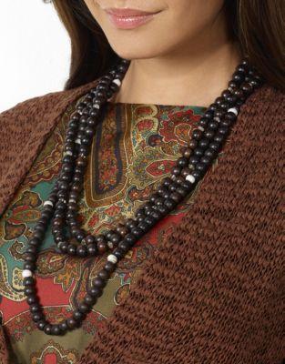 Lauren Ralph Lauren Open-Knit Shawl Cardigan