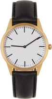 Uniform Wares Gold & Black C35 Watch