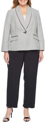 Le Suit Pant Suit-Plus