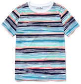 Lacoste Boy's Crew Neck Flamme Jersey Nautical T-Shirt