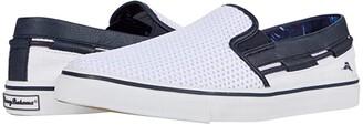 Tommy Bahama Exodus (White) Men's Slip on Shoes