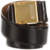Moschino Leather Waist Belt