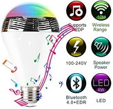 Color-Changing LED Dimmable Smart Music Light Bulb with Bluetooth Speaker and Remote Control for iPhones Android Smartphone (1)