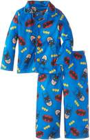 Komar Kids Little Boys' Batman Button Front Pajama Set