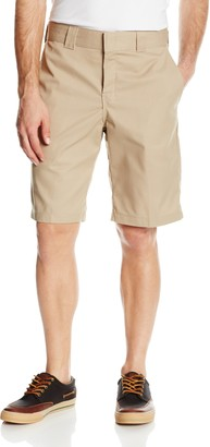 Dickies mens 11 Inch Relaxed-Fit Stretch-Twill Work flat front shorts