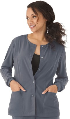 Jockey Plus Size Scrubs Classic Long Sleeve Jacket 2356