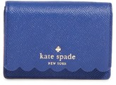 Kate Spade Women's Morris Lane Beca Leather Wallet - Blue