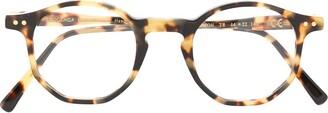 Epos Tortoiseshell Round-Frame Glasses