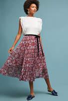 Ne Quittez Pas Virgo Chiffon Skirt
