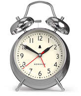 Newgate Clocks - Covent Garden Alarm - Chrome - Medium