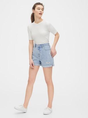 Gap Denim Mom Shorts
