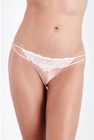 Heidi Klum Intimates Sublime Ribelle satin and mesh bikini briefs