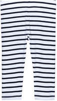 Joe Fresh Kid Girls' Stripe Crop Legging, JF Midnight Blue (Size S)