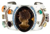 Marc Jacobs Cameo & Crystal Cuff