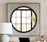 Pottery Barn Galvanized Porthole Mirror